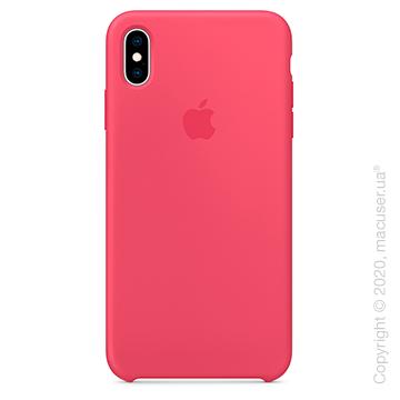 Чехол iPhone Xs Max Silicone Case, Hibiscus