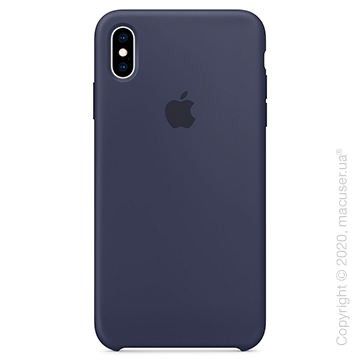 Чехол iPhone Xs Max Silicone Case, Midnight Blue