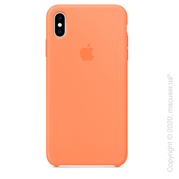 Чехол iPhone Xs Max Silicone Case, Papaya