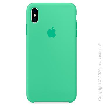 Чехол iPhone Xs Max Silicone Case, Spearmint