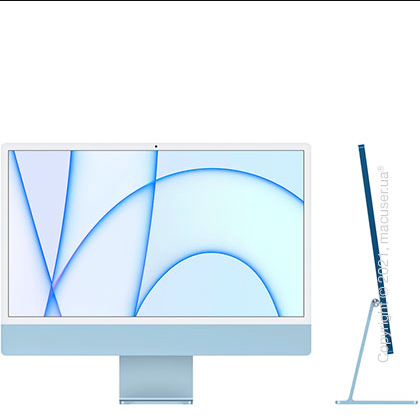 Apple iMac 24'' M1 Blue 2021 (Z12W0006V)