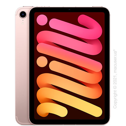 Apple iPad Mini 6 Wi-Fi+Cellular 64GB, Pink