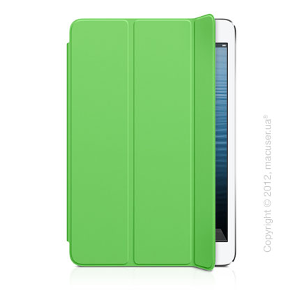Чехол Smart Cover Polyurethane, Green для iPad mini