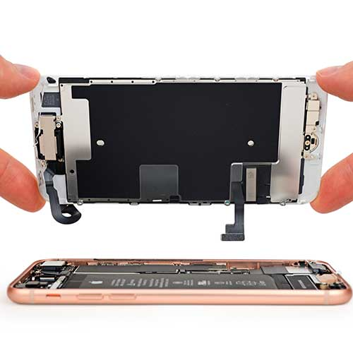 замена дисплея айфон 8